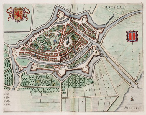 Bastion den Briel, anno 1649