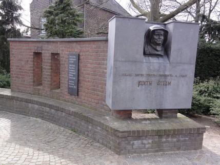 Oorlogsmonument in Echt voor Edith Stein