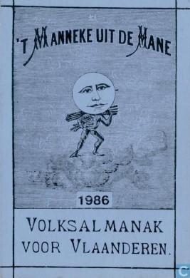 almenak 't manneke uit de mane - 1986