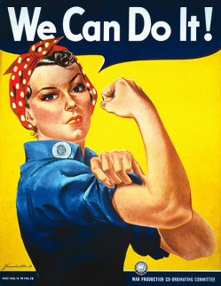 We Can Do It! poster voor Westinghouse, 1942