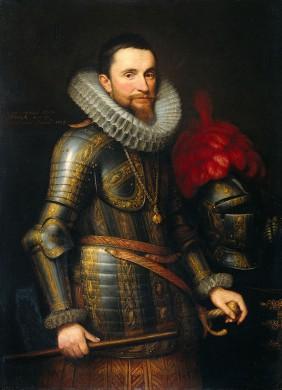 Ambrogio Spinola geschilderd door Michiel Jansz. van Mierevelt in 1609
