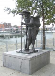 Standbeeld van Adriaen Anthonisz in Alkmaar