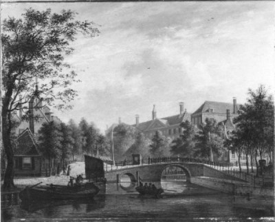 Afbeelding van Aalmoezeniersweeshuis Prinsengracht 1884