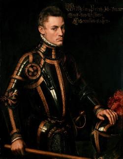 Willem van Oranje, door Anthonis Mor