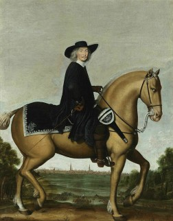 Christoph Bernard von Galen on horse