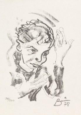 Zelf portret David Bowie