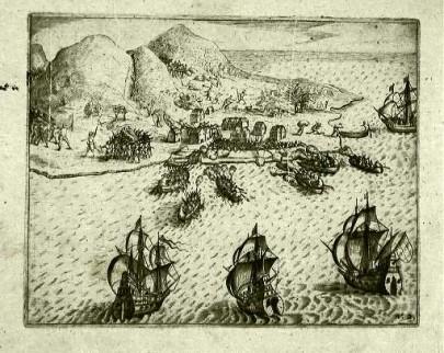 Overwinning op de Portugezen bij Ambon