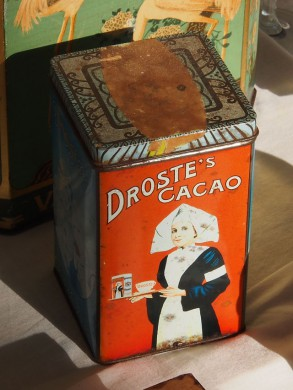 Droste cacaoblik