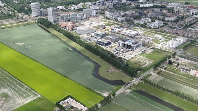 Luchtfoto Geniedijk Haarlemmermeer