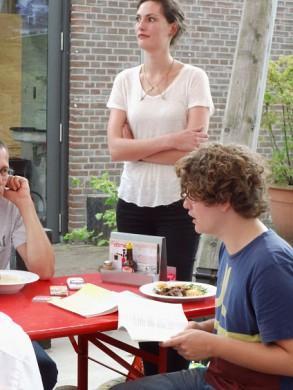 Maarten van der Graaff draagt voor