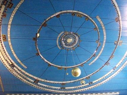 Planetarium Franeker interieur