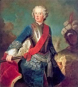 Kroonprins Frederik, 1736