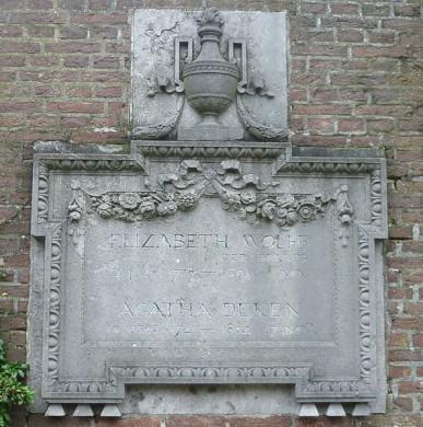 Graf van Betje Wolff en Aagje Deken