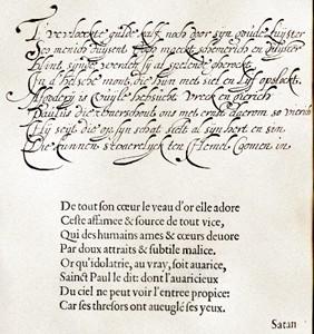 Handschrift Anna Roemers Visscher