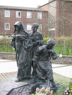 Monument voor de Holocaust en Edith Stein te Keulen