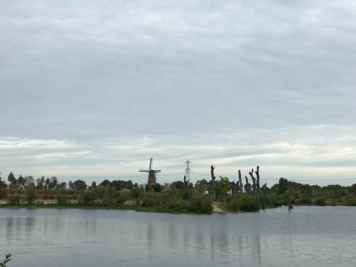 De Hompesche molen in Ohé en Laak/Stevensweert. Foto bvhh.nu 2018.