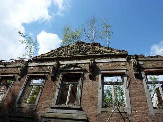 Klooster Hoogcruts te Margraten. Foto Marij Coenen 2014.