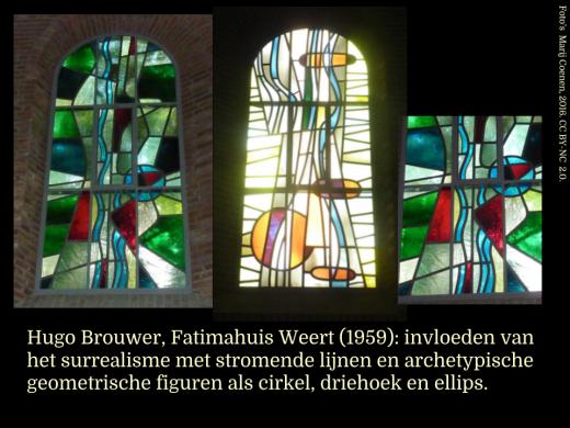 Hugo Brouwer, Fatimahuis Weert (1959).