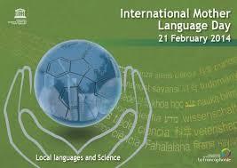 Poster Internationale Moedertaaldag 2014