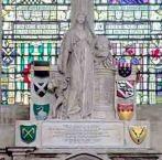 Grafmonument Joan Gideon Loten Westminster Abbey