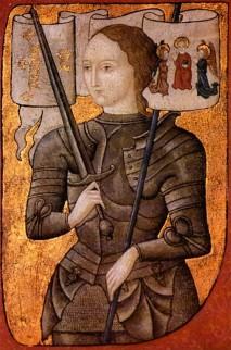 Miniatuur van Jeanne d'Arc, tussen 1450 en 1500