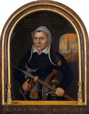 Afbeelding uit 1573-1600, schilder onbekend, in Rijksmuseum Amsterdam