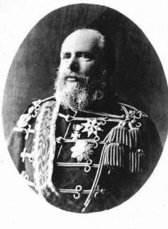 Koning Willem III rond 1890
