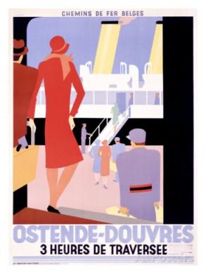Affiche voor Oostende