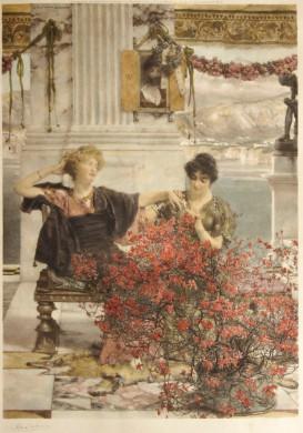 Verlovingsring antieke prent Lourens Alma-Tadema