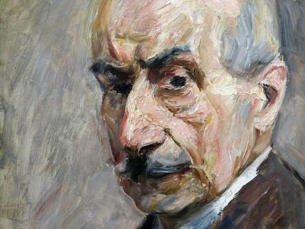 Max Liebermann - Zelfportret (1913)