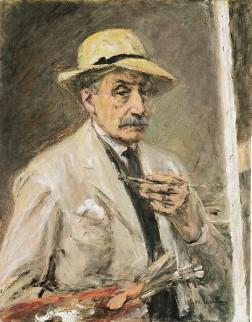 Max Liebermann - Zelfportret (1934)