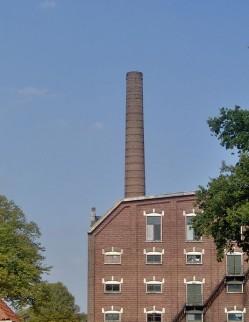 Foto fabriek Boekelosche stoomblekerij