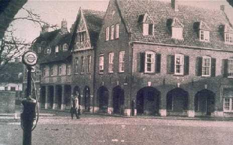 Winkels langs het C.T. Storkplein. Bron: Hotel 't Lansink