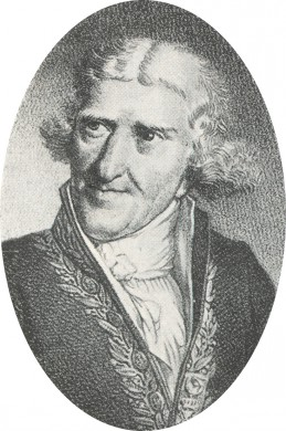 Portret van Antoine-Auguste Parmentier