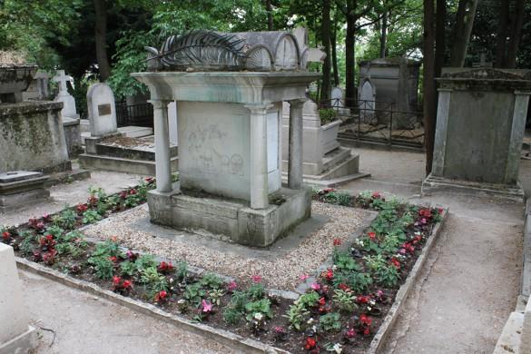 Graf van Antoine-Augustin Parmentier op het Pere Laichesse kerkhof te Parijs