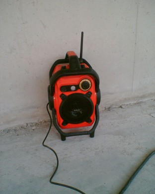 een bouwradio