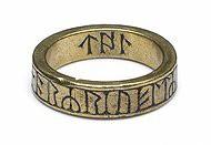 magische ring uit de 9de of 10de eeuw