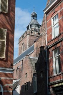Buurkerk, waar Sara Sibilla Verdion begraven ligt.