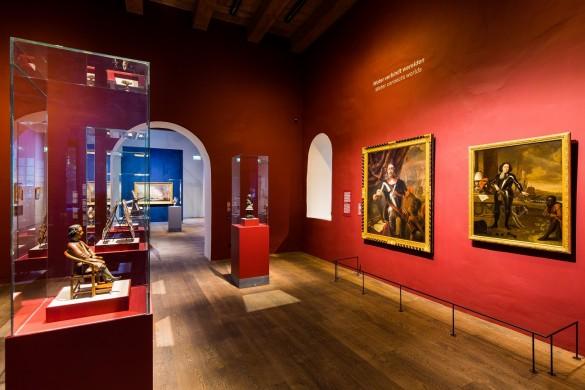 De tentoonstelling Republiek aan Zee in Het Scheepvaartmuseum in Amsterdam.