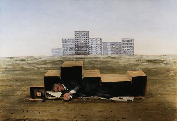 Teun Hocks foto-schilderijen