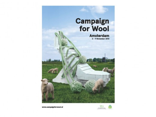 Campagnebeeld Wool Week
