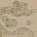 Getekend tuinontwerp van het park bij kasteel Biljoen