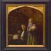 Frans Cuypers portretteerde zijn broer, Pierre Cuypers, als architectus doctus in zijn werkkamer, circa 1853. Zijn eerste vrouw met het overleden kind zijn postuum toegevoegd (1855). Cuypershuis Roermond.