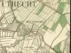 Militaire kaart met locatie Fort Vossegat