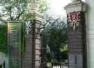 Foto van de ingang van de Hortus Botanicus Amsterdam