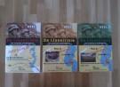Covers van de drie boekjes over De IJssellinie
