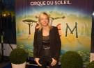 Floortje Dessing bij de Europese première Cirque du Soleil in Amsterdam