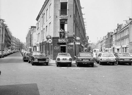 """""""De Pijp"""", gezicht op G.Doustraat en Tweede Jacob van Campenstraat"""